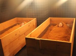 офуро песочная баня