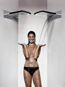 каскадный душ