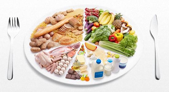 Рацион правильного питания в граммах