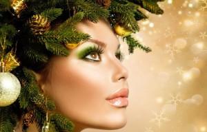 как стать красивой к Новому году